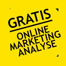 Gratis online marketing analyse