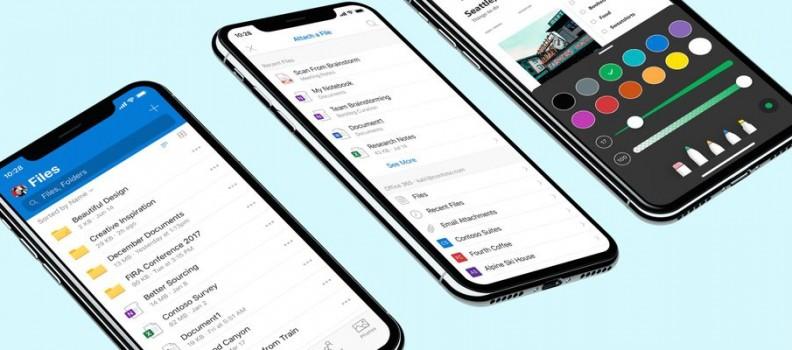 Een nieuw jasje voor de OneDrive app