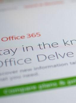 Office Delve update