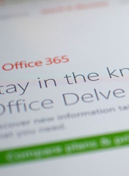 Office Delve update