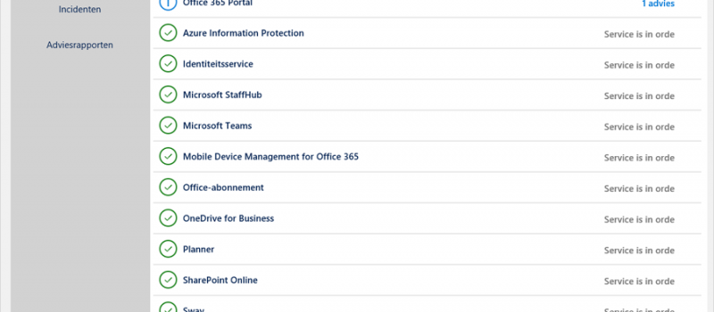 Office365healthcheck