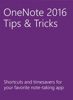 eBook: Alle Tips & Tricks van OneNote 2016
