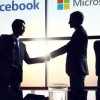 Facebook en Microsoft bespreken samenwerking