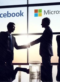 Facebook & Microsoft's samenwerking
