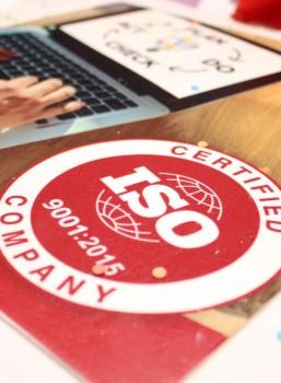 We zijn nu ISO 9001 gecertificeerd!