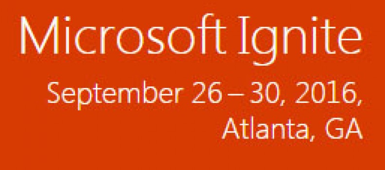 Microsoft Ignite, c)solutions is erbij!