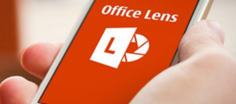 Office Lens – een complete scanner in je binnenzak